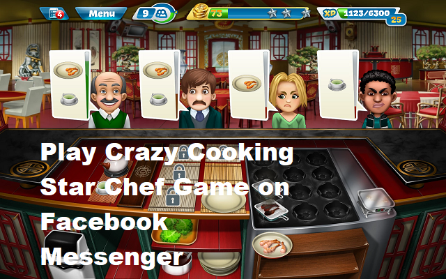 Crazy Cooking Star Chef