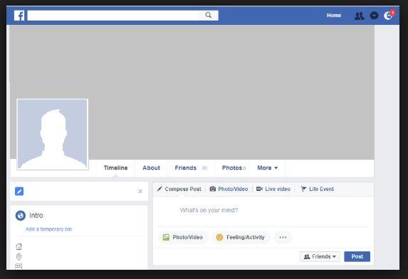 Facebook User Profile