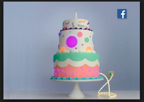 Facebook Video for My Birthday