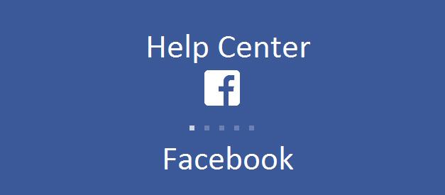 Help Center Facebook