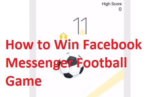 Messenger Football Game