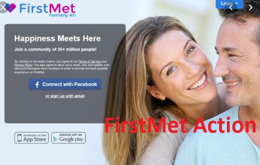 FirstMet Sign Up