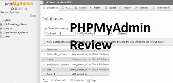 PHPMyAdmin Review