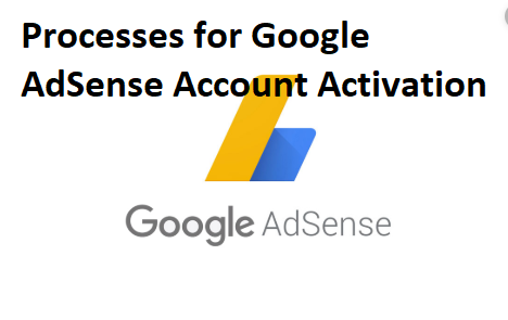 Process for Google AdSense Account Activation