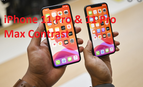 iPhone 11 Pro and iPhone 11 Pro Max Contrast