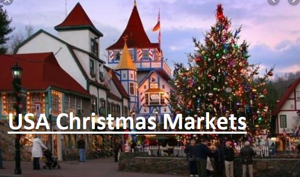 USA Christmas markets
