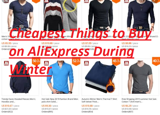 Cheapest Things to Buy on Aliexpress During Winter