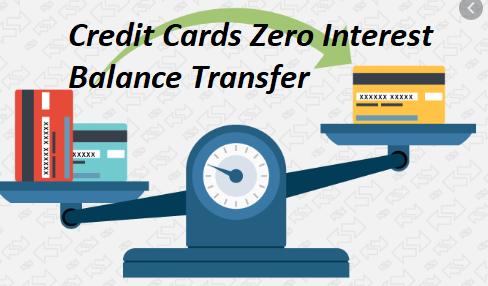 Credit Cards Zero Interest Balance Transfer
