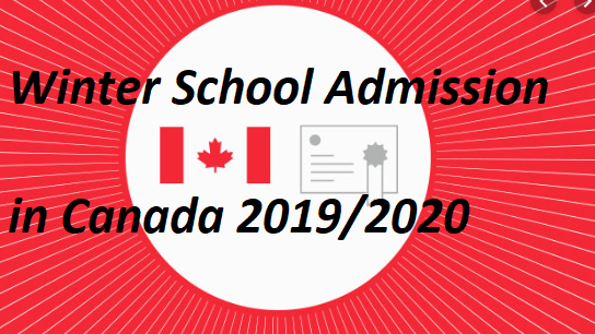 Winter Admission in Canada for all Nationalities