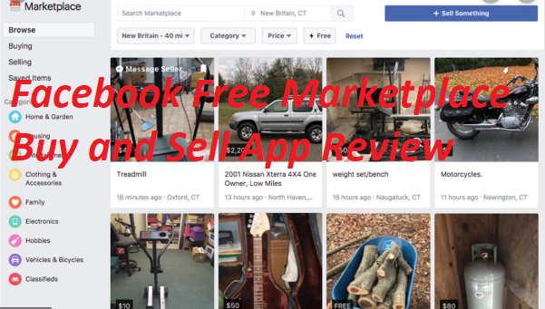 Facebook Free Marketplace Buy and Sell App Review