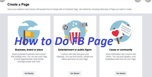 How to Do FB Page