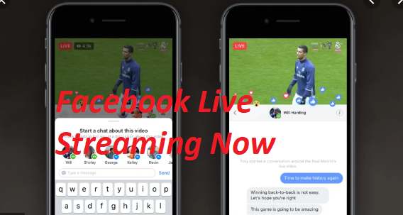 What is Facebook Live