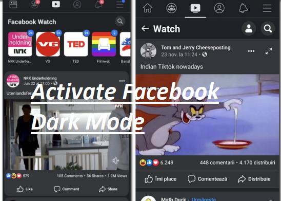 Facebook Dark Mode – How to Enable Dark Mode in Facebook 2020 | Facebook Night Mode Settings