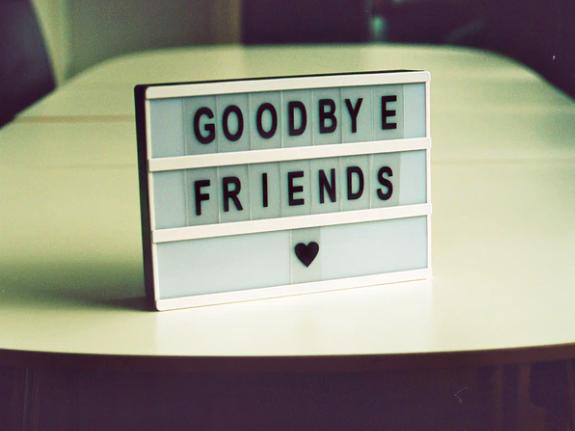 Facebook Farewell Messages