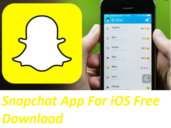 Snapchat App For iOS Free Download