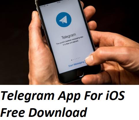 Telegram App For iOS Free Download