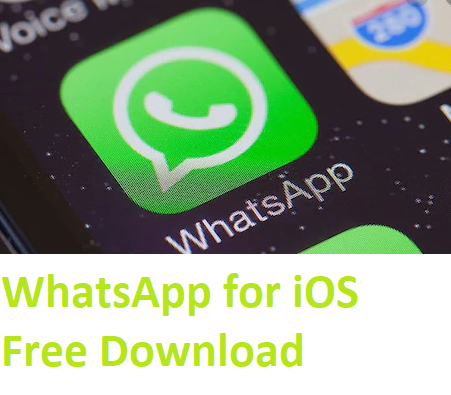 WhatsApp for iOS Free Download