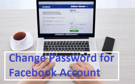 Change Password for Facebook Account