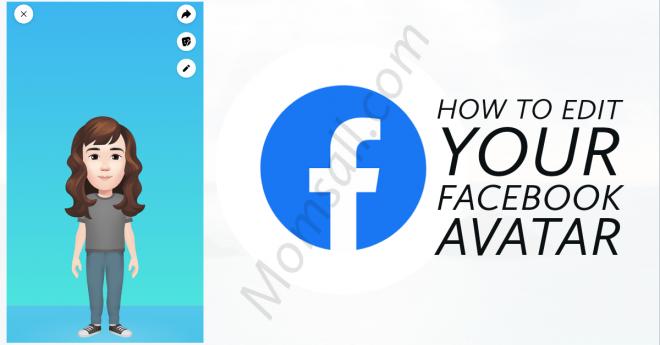 How to Edit Your Already Created Facebook Avatar   Edit Facebook Avatar
