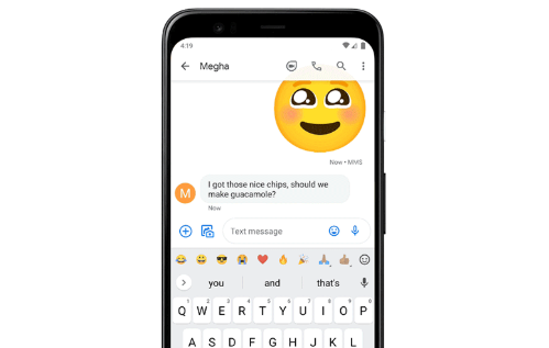 Google Is Beta Testing A New Emoji Shortcut Bar For Android Currently