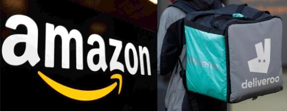 Amazon's Investment In Food Delivery Giant Deliveroo Is Now UK Approved
