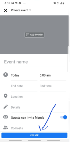 Facebook Events App – Create Private or Public Event on Facebook | Facebook Events Calendar Download