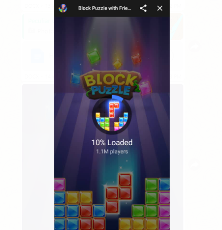 Hack on How to Win Block Puzzle Game on Facebook Messenger