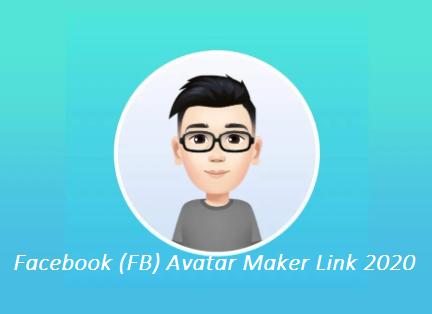 Facebook (FB) Avatar Maker Link 2020