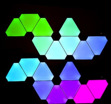 Nanoleaf Includes Triangle To Its Colourful Shapes Light Panels