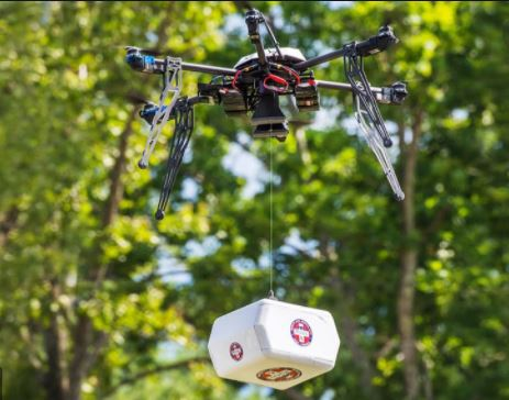 Rural North Carolinia Residents Will Soon Is About To Get Their Meds Delivered By Drone
