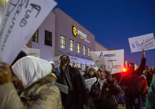 Amazon Workers Intend To Strike And Protest About The Black Friday In 15 Countries