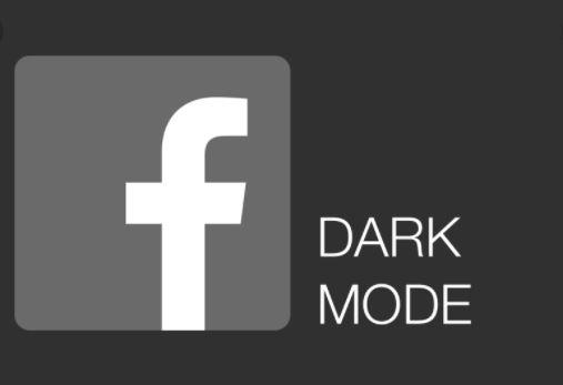 Facebook Dark Mode Activate