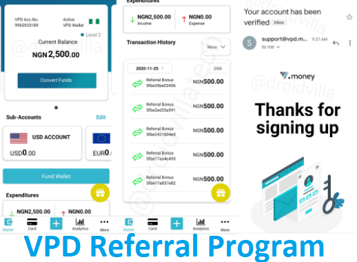 VPD Referral Program