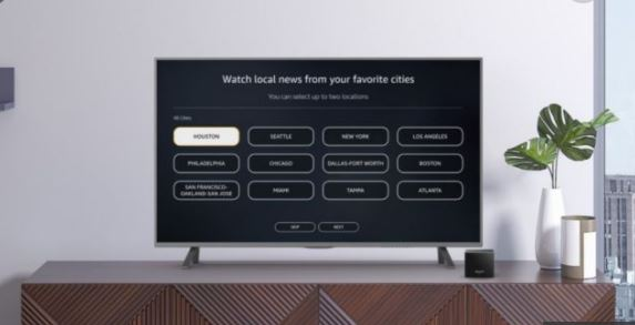 Amazon's Free News App On Fire TV Now Support Local Stations
