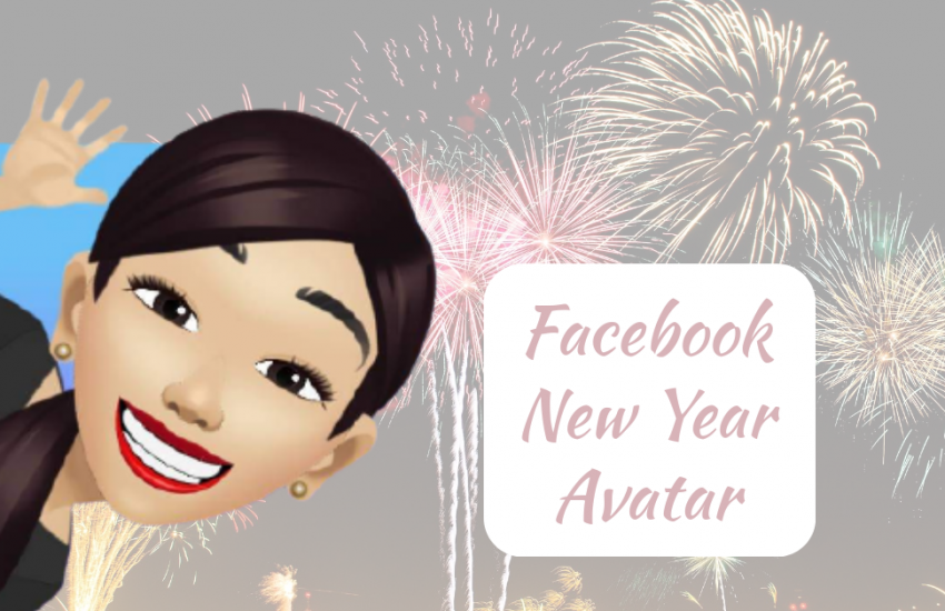 Facebook New Year Avatar