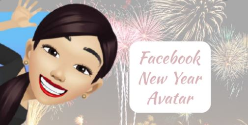 Facebook New Year Avatar Creation
