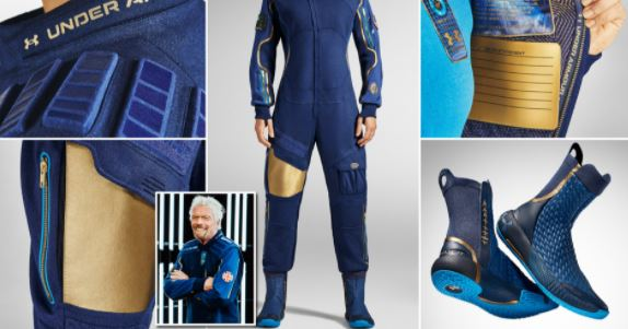 Virgin Galactic Launches Its Latest Under Armour Pilot Spacesuits