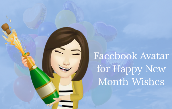 Facebook Avatar for Happy New Month Wishes
