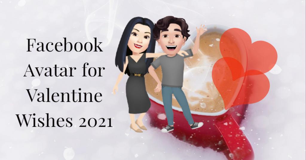 Facebook Avatar for Valentine Wishes 2021