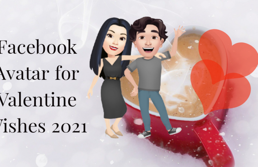 Facebook Avatar for Valentine Wishes 2021
