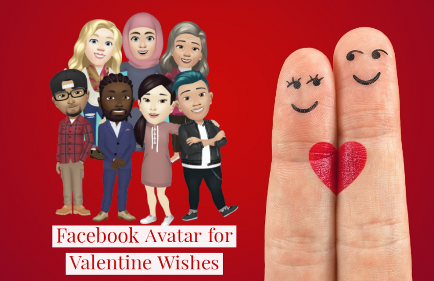 Facebook Avatar for Valentine Wishes