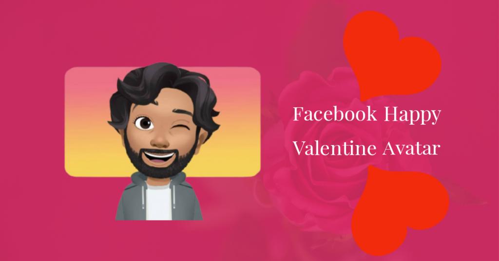 Facebook Happy Valentine Avatar