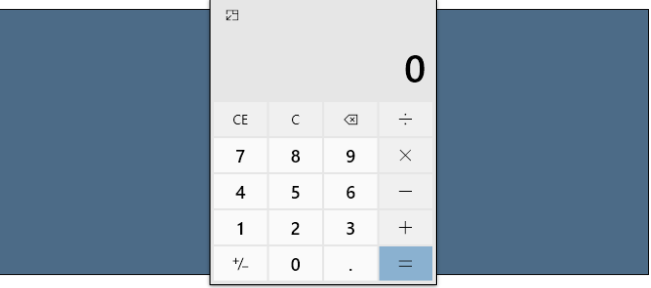 How to Keep The Calculator Always On Top On Windows 10