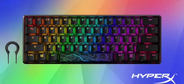 HyperX Made Its First 60% Mechanical Gaming Keyboard