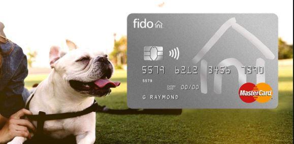 Apply for Fido MasterCard