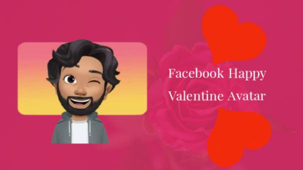 Facebook Valentine Avatar Gift