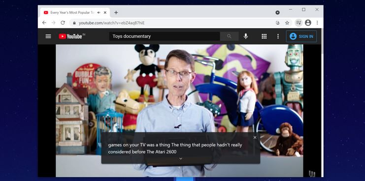 How Live Captions Activation in Chrome Works