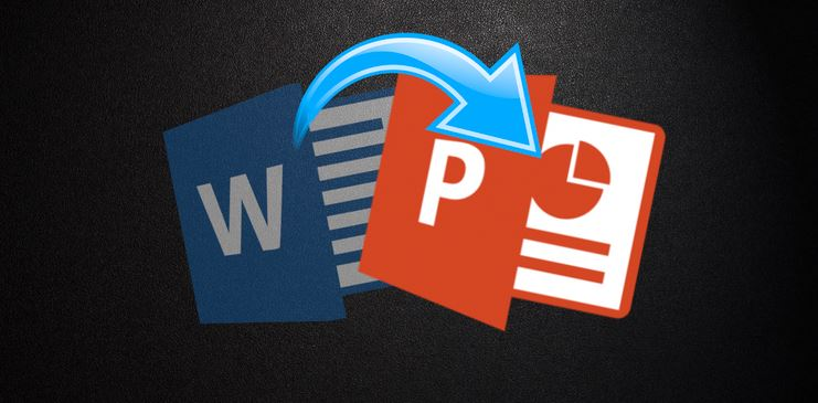 How to Convert Microsoft Word Document Into Presentation