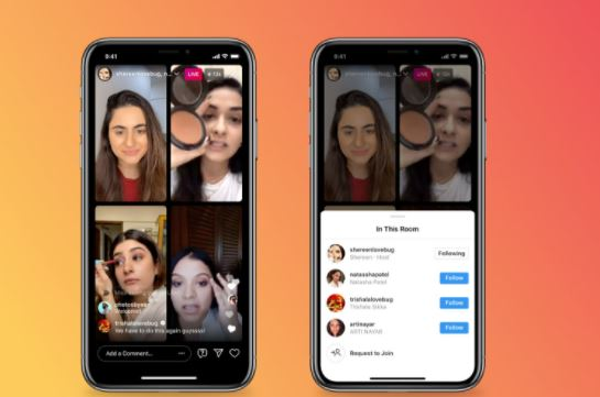 Instagram Will Allow Four Users Go Live In A Single Stream