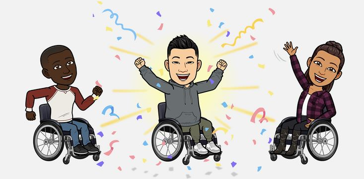 Snapchat's Latest Update For Bitmoji Are In Wheelchairs